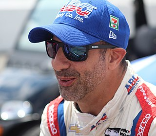 Tony Kanaan Brazilian racing driver