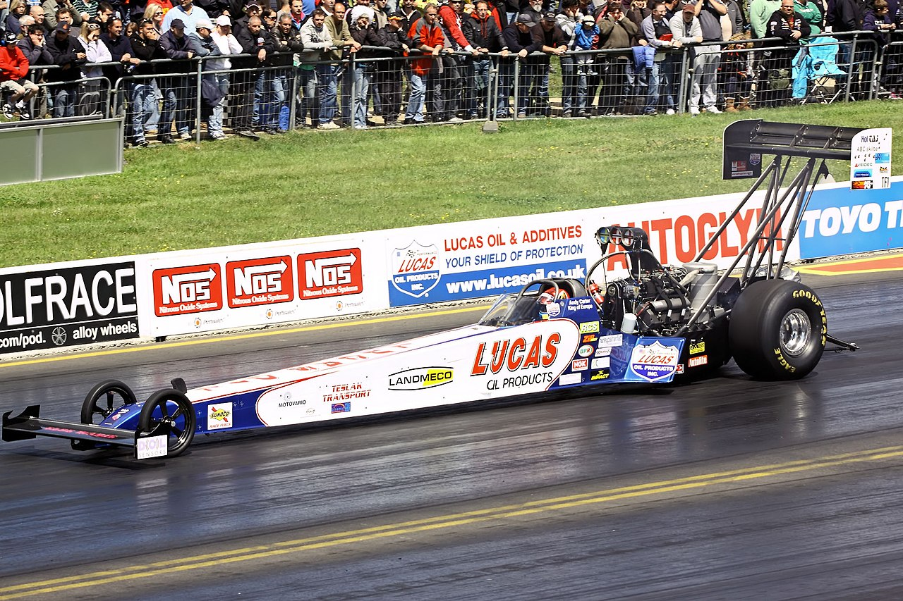 Funny Car Racing   Mile Time