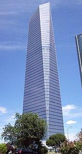 skyscraper in Madrid, Spain