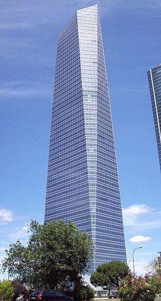 Torre de Cristal - Torre de Cristal in July 2009