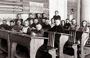 Torvisen kansakoulu 1924-26