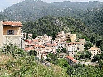 Tourrette-Levens - A view of Tourrette-Levens from the castle