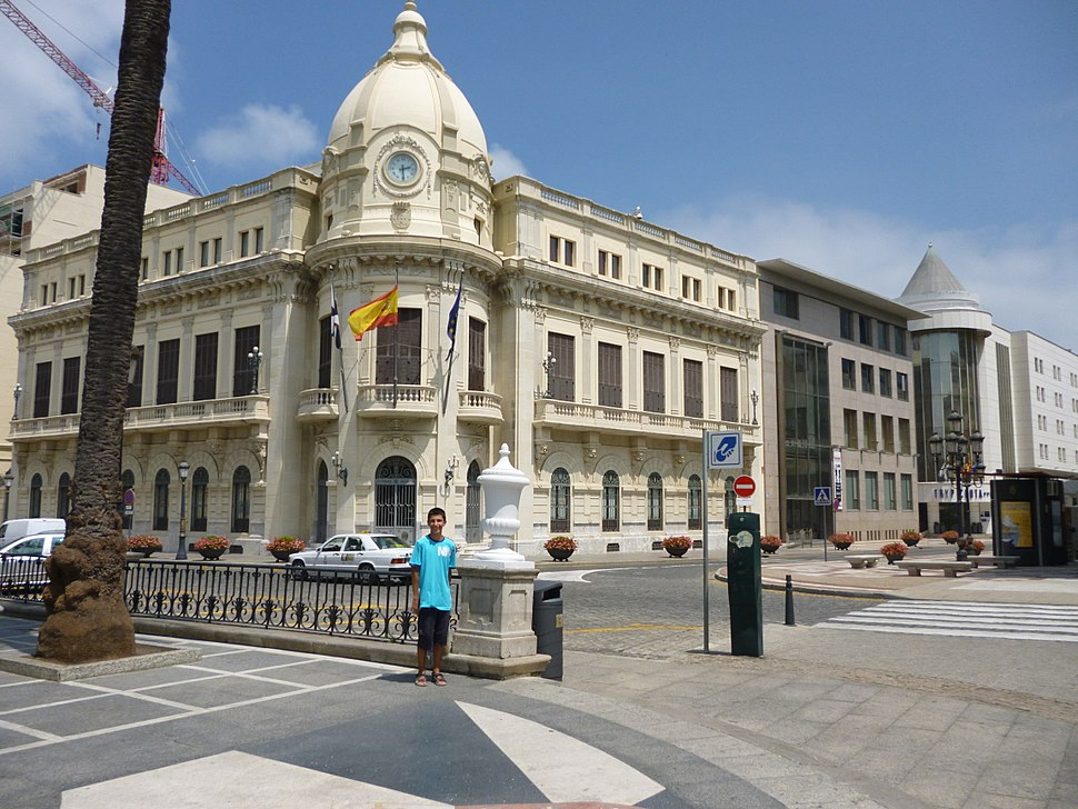 Town hall of Ceuta