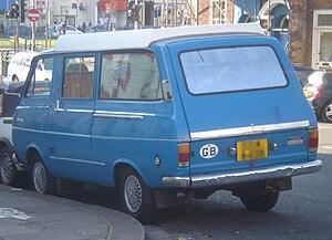 Toyota HiAce - Rear
