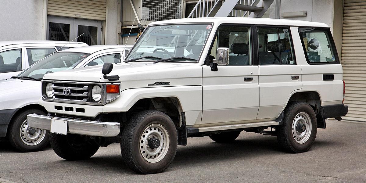 Toyota Land Cruiser (J70) - Wikipedia
