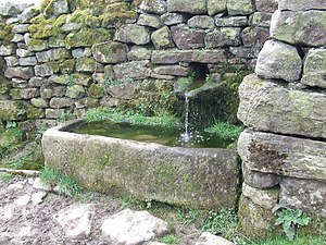 Traditional Stone Water Trough This is situate...