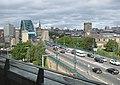 Traffic on The Tyne Bridge (geograph 3670505).jpg