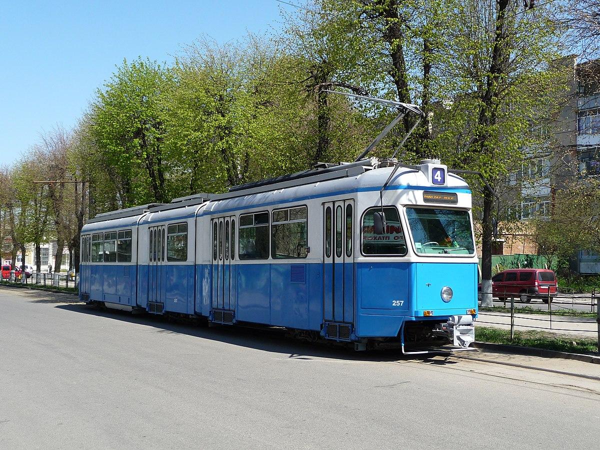 Trams in Vinnytsia - Wikipedia
