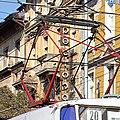 Tram in Sofia near Central mineral bath 2012 PD 023.jpg