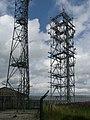 Transmitting masts at the top of Hunshelf Bank - geograph.org.uk - 911783.jpg