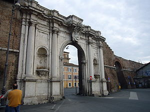 Vincenzo Maculani - The Porta Portese; commissioned by Pope Urban VIII and constructed by Maculani.