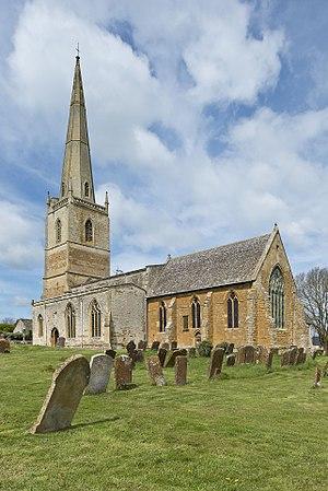 Tredington, Warwickshire - Image: Tredington, Warwickshire, St Gregory