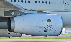 Rolls-Royce Trent - Trent 700 on a Saudia A330