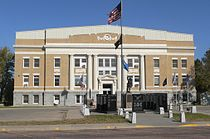 Tripp County, SD courthouse from S 1.JPG