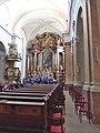 Trnava, kostol Najsvätejšej Trojice, interiér.JPG