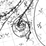 Tropical Storm Five Analysis 6 Sep 1932.png