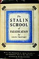 Trotsky - The Stalin school of falsification (cover, 1930).jpg