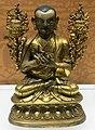 Tsongkhapa (Tsong-kha-pa 1357-1419) copper statue Qing era IMG 5872 Great Lama Temple Beijing - Jietai Building qianlong era temple treasures.jpg
