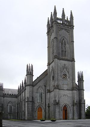 Cathedral of the Assumption of the Blessed Virgin Mary, Tuam - Image: Tuam RC Cathedral 2