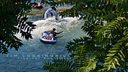 Tubing on Comal River's Stinky Falls near Prince Solms Park.