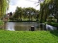 Tuklaty, rybník z ulice U Lávky.jpg