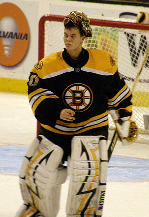 Tuukka Rask - Rask as a member of the Boston Bruins.