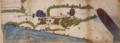 Twelfth century map of Palestine, Biblioteca Medicea Laurenziana, Ashburnham Libri MS 1882.png