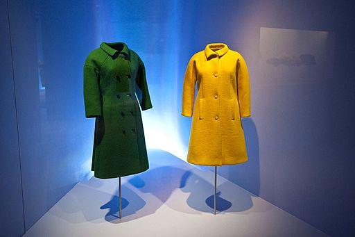 Two coats by Balenciaga. Balenciaga Museoaren inaugurazioa 24