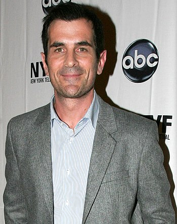 Ty Burrell at the New York Television Festival.