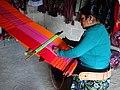 Tzotzil Woman at Weaving Cooperative - Zinacantan - Chiapas - Mexico.jpg