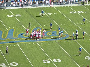 2012 UCLA Bruins football team - Utah vs. UCLA at the Rose Bowl