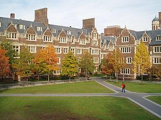 Quaker Consortium - Image: U Penn Quad