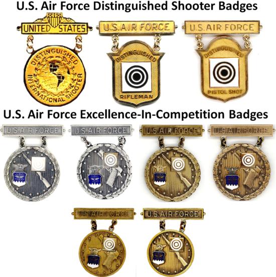 USAF EIC Badges