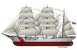 USA tallship Eagle