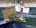 USCGC Northland Rescues Haitians by Herb Mott (ID - 90230) DVIDS1085332.jpg