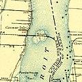 USGS topographic map, Michigan, Wyandotte quadrangle (278613), 1906, 1-62500 (cropped to Stony Island).jpg