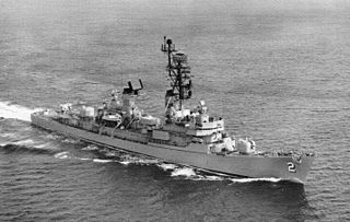 <i>Charles F. Adams</i>-class destroyer Class of guided missile destroyers