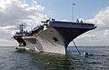 USS Harry S. Truman anchors outside Portsmouth.jpg