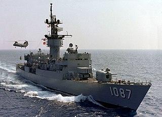 USS <i>Kirk</i> Knox class frigate