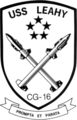 USS Leahy (CG-16) insignia, 1975.png