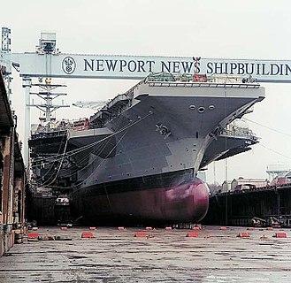 Bulbous bow - Image: USS Ronald Reagan Bulbous Bow