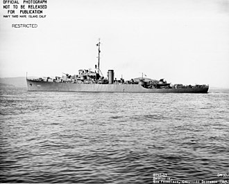 Tacoma-class frigate - Image: USS Tacoma (PF 3) 120800303