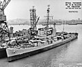 USS Wesson (DE-184) at the Mare Island Naval Shipyard, California (USA), on 26 June 1945.jpg