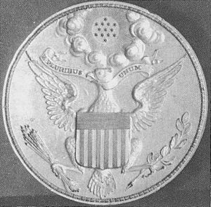 Seal of the President of the United States - Dorsett seal, reversed photo