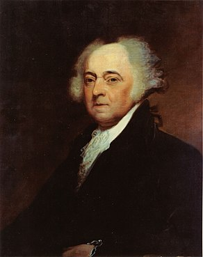US Navy 031029-N-6236G-001 A painting of President John Adams (1735-1826), 2nd president of the United States, by Asher B. Durand (1767-1845).jpg
