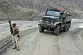 US Navy 041230-M-4697Y-008 A U.S. Marine, assigned to Weapons Company, 3rd Battalion, 3rd Marine Regiment, provides security while in the Khowst-Gardez Pass, Afghanistan.jpg