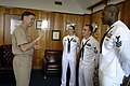 US Navy 080717-N-9818V-038 Vice Adm. Mark Ferguson, chief of Naval Personnel meets with Sailor of the Year selectees.jpg