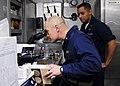 US Navy 100126-N-1947A-007 Medical Sailors work in ship lab.jpg