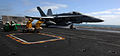 US Navy 110524-N-OY799-355 An F-A-18C Hornet launches from USS John C. Stennis (CVN 74).jpg