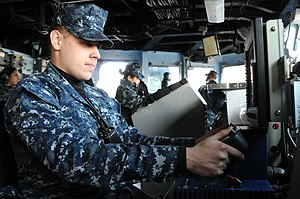 US Navy 120201-N-SP676-229 A Sailor operates a remote control unit.jpg